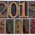 2015 · objetivos · madera · tipo · año · nuevo - foto stock © pixelsaway