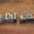 palavra · metal · tipo · misto · vintage · impressão - foto stock © pixelsaway