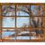 starych · okno · zimą · pełny · śniegu · szkła - zdjęcia stock © pixelsaway