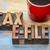 adó · visszatérés · szó · absztrakt · fa - stock fotó © pixelsaway