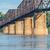 vintage mississippi river bridge stock photo © pixelsaway