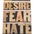 恐怖 · タイプ · 言葉 · 書かれた · ヴィンテージ - ストックフォト © pixelsaway