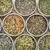 egész · levél · zöld · tea · pult · tea · táska - stock fotó © pixelsaway