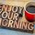 desfrutar · ação · de · graças · tipografia · palavra · abstrato · vintage - foto stock © pixelsaway