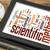 wetenschappelijk · onderzoek · woordwolk · digitale · tablet · gegevens · onderzoek - stockfoto © pixelsaway