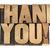 obrigado · madeira · tipo · isolado · texto - foto stock © PixelsAway