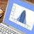 gegevens · distributie · grafiek · digitale · tablet - stockfoto © pixelsaway