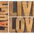 amor · você · mesmo · madeira · tipo · auto-estima · isolado - foto stock © pixelsaway