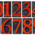 isolated number set in wood type stock photo © pixelsaway