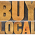buy local words in wood type stock photo © pixelsaway