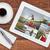 スタンド · アップ · 搭乗 · 湖 · 夏 · ボード - ストックフォト © pixelsaway