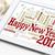 happy new year 2017 on blackboard word cloud stock photo © pixelsaway