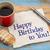 С · Днем · Рождения · рождения · фон · свечу · Kid · смешные - Сток-фото © pixelsaway