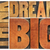 think and dream big word abstract stock photo © pixelsaway