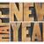 happy new year in wood type stock photo © pixelsaway