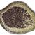 gluténmentes · fekete · gabona · fakanál · izolált · fehér - stock fotó © pixelsaway