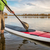 stand up paddleboard on lake stock photo © pixelsaway