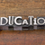 education word in metal type stock photo © pixelsaway