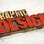 graphic design in wood type stock photo © pixelsaway