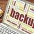 backup word cloud stock photo © pixelsaway
