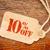 negyven · százalék · el · árengedmény · ár · címke - stock fotó © pixelsaway