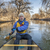 canoe paddling on poudre river stock photo © pixelsaway
