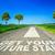 futuro · parole · strada · scritto · lavoro · segno - foto d'archivio © pixinoo