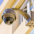 security cctv camera or surveillance system in office building stock photo © pixinoo