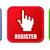 klik · hier · Rood · vector · icon · knop · internet - stockfoto © pixxart