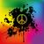 settanta · Rainbow · abstract · design - foto d'archivio © pixxart