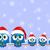ptaków · listonosz · christmas · ilustracja · pracy · kopercie - zdjęcia stock © pixxart