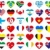 heart flag stickers stock photo © pixxart