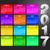 data · arco-íris · menino · escalada · menina · 3D - foto stock © pixxart