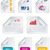 ikon · toplama · pdf · belge · dosya · ayarlamak - stok fotoğraf © place4design
