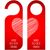 door tags with valentines day design stock photo © place4design