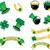 クローバー · 聖パトリックの日 · エンドレス · 背景 · テクスチャ - ストックフォト © place4design