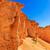 vermelho · rocha · paisagem · formação · rochosa · desfiladeiro · céu - foto stock © pngstudio