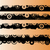 4 black grunge strips 2 stock photo © pokerman