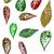 grunge · sonbahar · yaprakları · örnek · vektör · modern · sevimli - stok fotoğraf © pokerman