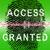fingerprint on a green biometric scanner stock photo © pokerman