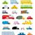 desenho · animado · polícia · carro · cara · segurança · rápido - foto stock © popaukropa