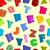 kleurrijk · puzzel · naadloos · apart · stukken · illustratie - stockfoto © popaukropa