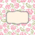 バラ · フローラル · カード · フレーム · テンプレート · 文字 - ストックフォト © popaukropa