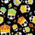 street kings gold crown skull seamless pattern vector backgrou stock photo © popaukropa
