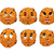 cookies emotions set oatmeal cookie evil and good calm and agg stock photo © popaukropa