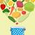 comida · vegetariana · cocina · placer · cocina · fondo · ensalada - foto stock © popaukropa