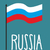 russian flag waving in wind vector illustration stock photo © popaukropa