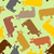 cow seamless pattern crazy cow with big eyes pets vector backg stock photo © popaukropa