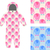 jumpsuit child structure from cute elephant in shoes set of sea stock photo © popaukropa
