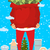 Santa and bag of money. Christmas gift cash. Red sack with dolla stock photo © popaukropa